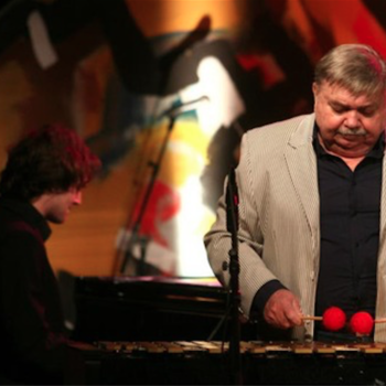 With Boško Petrović in Lisinski Hall, Zagreb (HR), 2010 <em>Photo: Lisinski Hall</em>